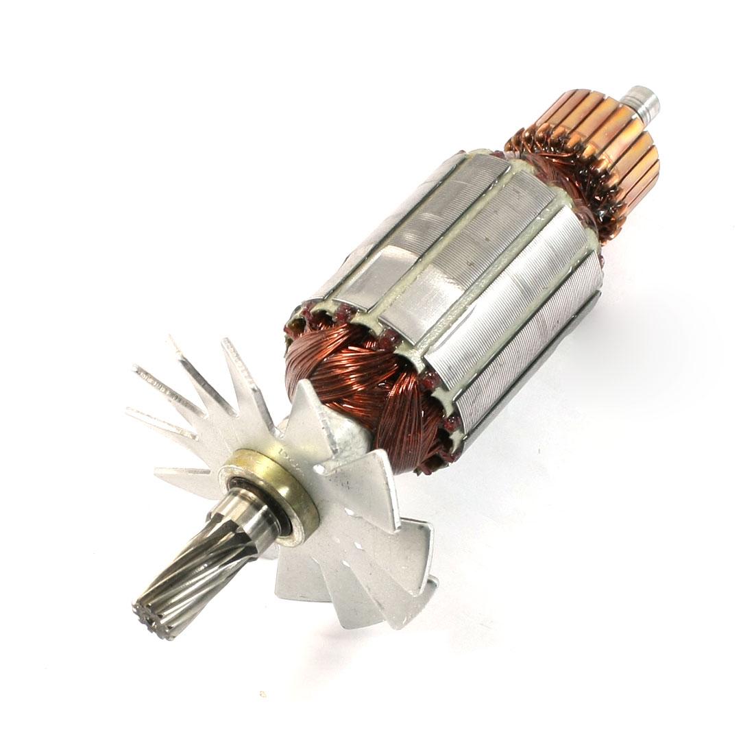AC220V 11-Teeth Drive Shaft Polishing Machine Part Motor Rotor for Makita 9218PB