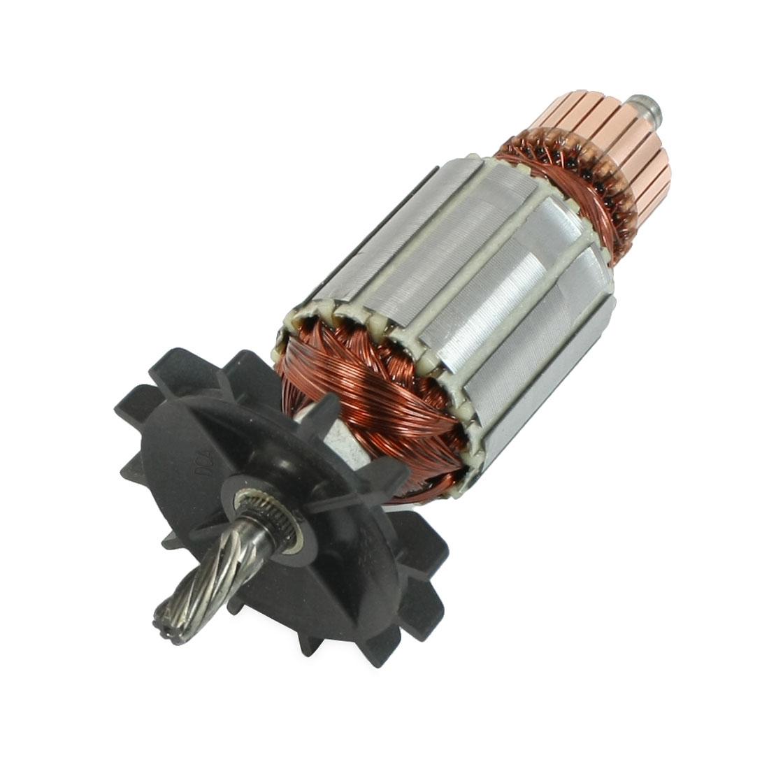 AC220V Power Tool 7 Teeth Drive Shaft Rotor for Makita 6013BR Impact Drill