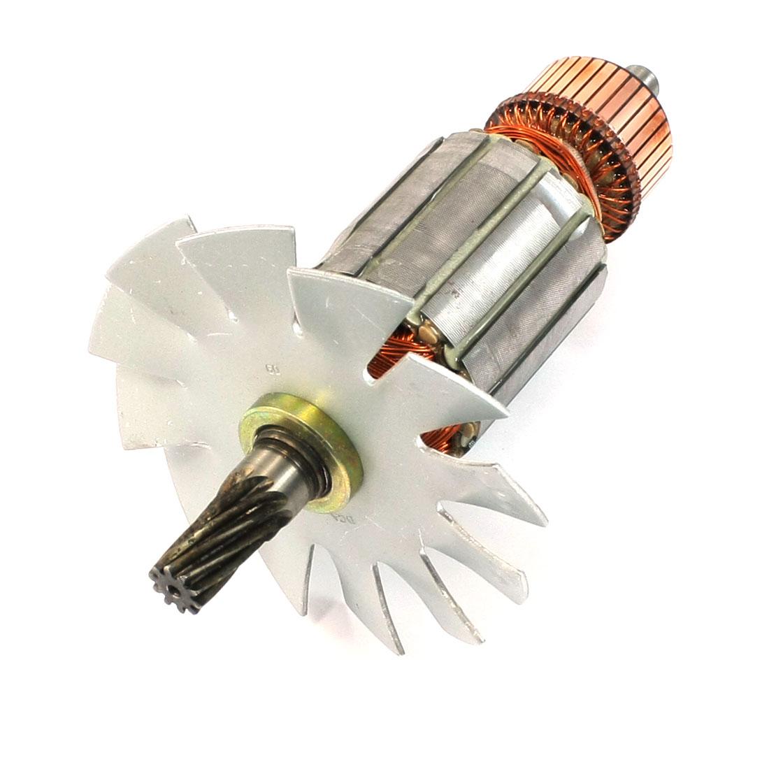 AC 220V 12mm Drive Shaft 6 Teeth Rotor Armature for Makita 5103N 5201N Circular Saw