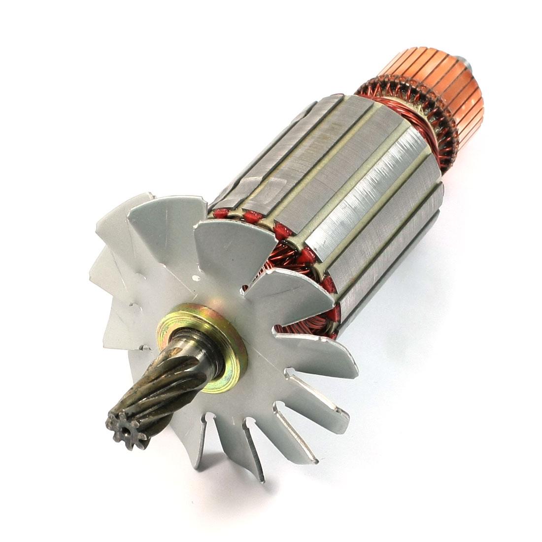 Electric Circular Saw Power Tool 8-Teeth Shaft Rotor AC 220V for Hitachi C-13