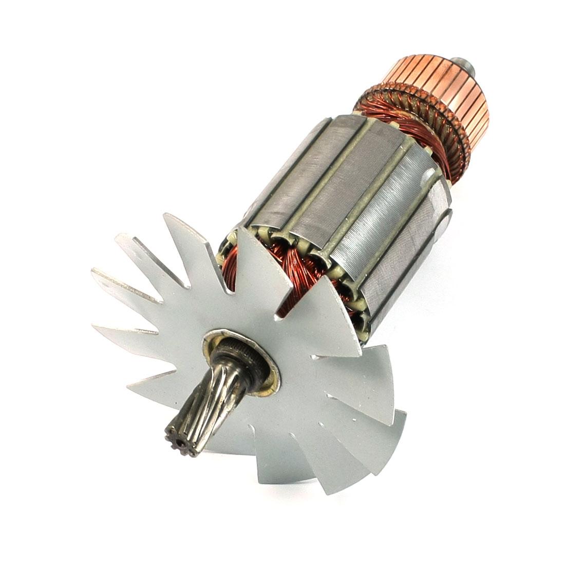 AC 220V 11mm Drive Shaft 9 Teeth Rotor Armature for Makita 5016B Electric Saw