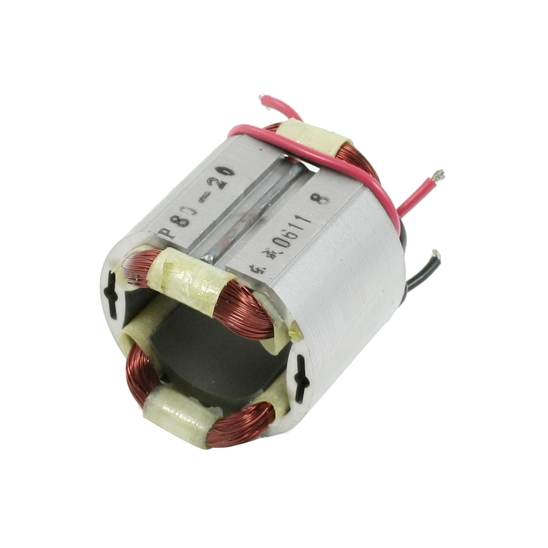 AC220V Stainless Steel Shell 4 Cables Electric Motor Stator for Baltur P80-20