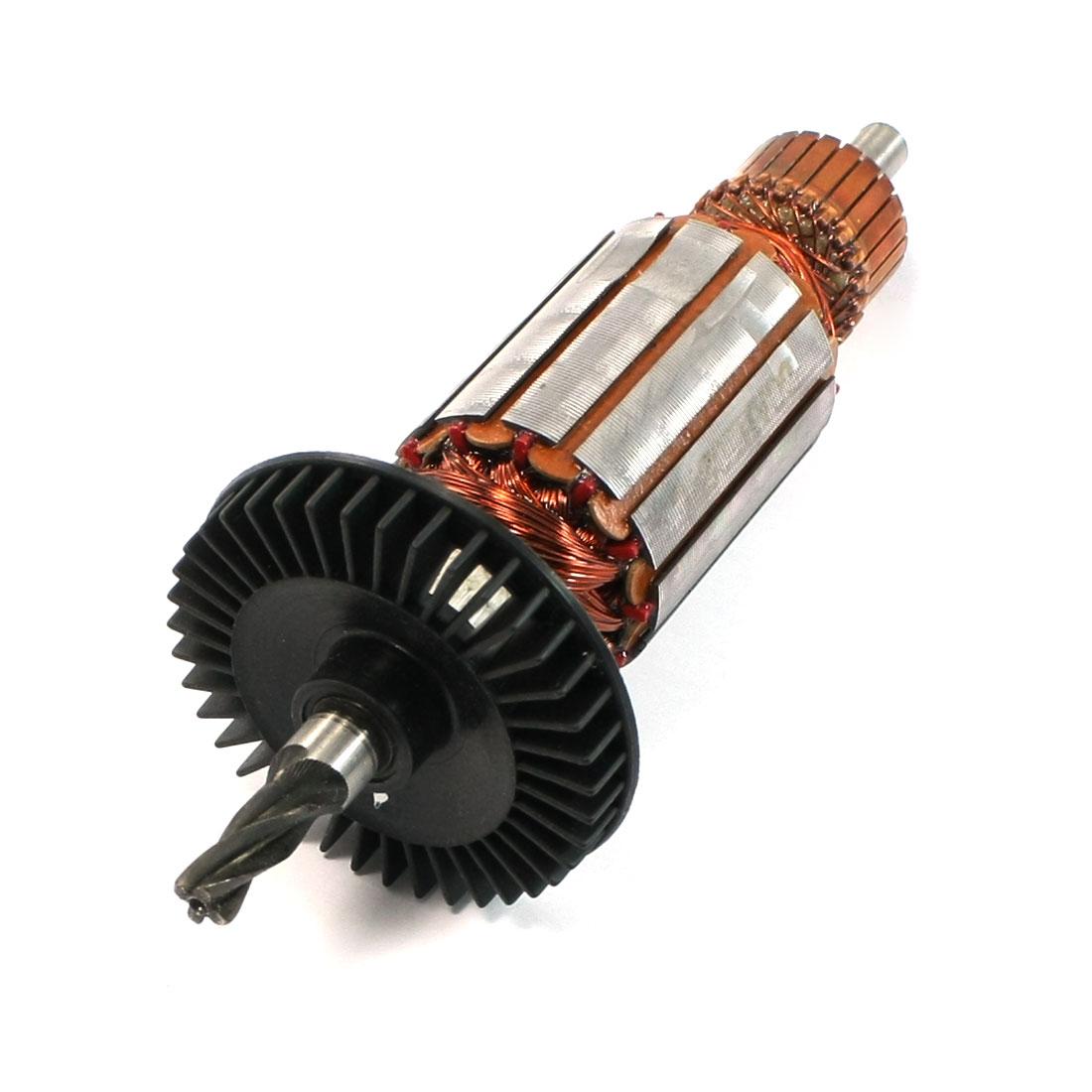 AC 220V Scroll Saw Part 4 Teeth Drive Shaft Motor Rotor for Bosch GST100PB