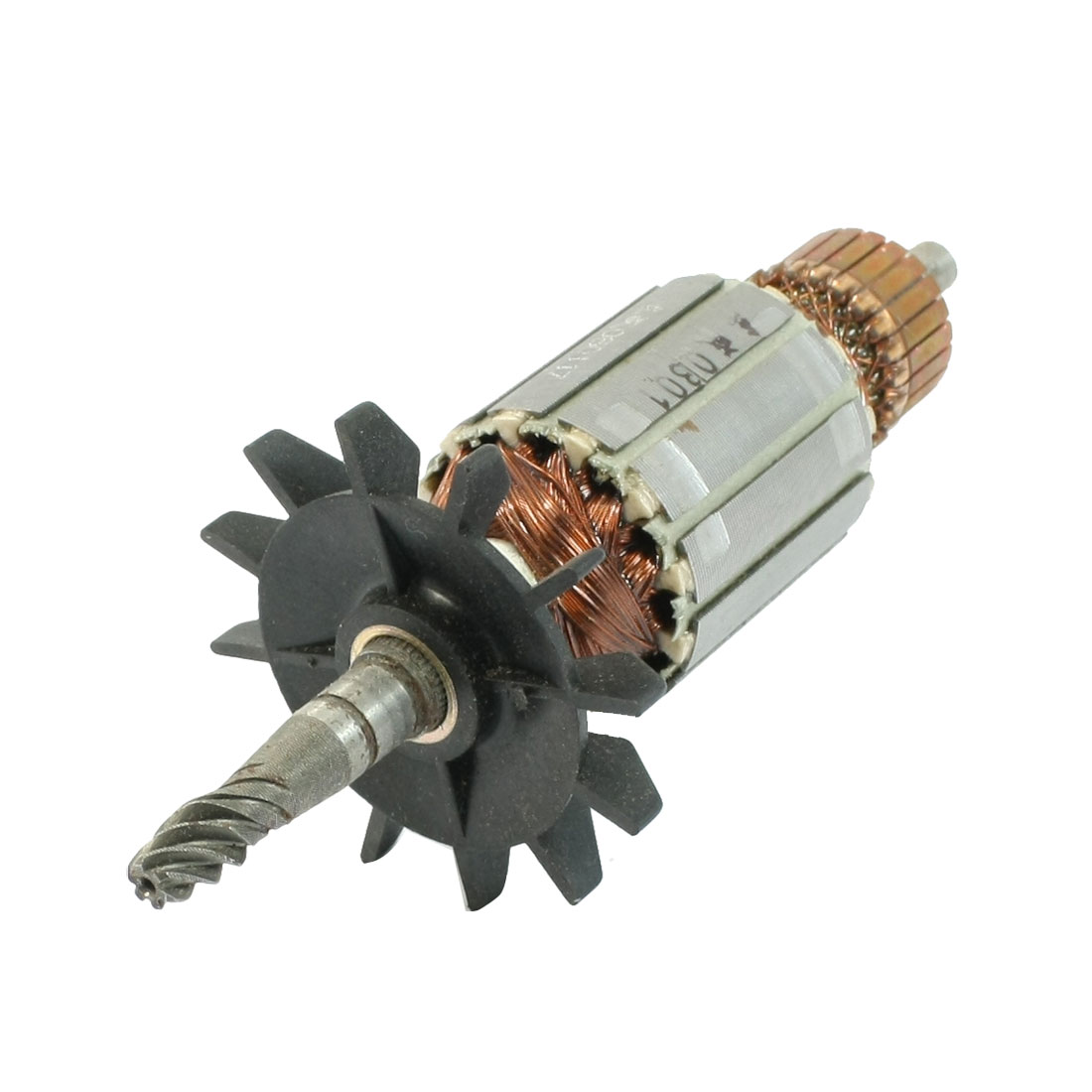 AC 220V Churn Drill Replacement 6 Teeth Shaft Electric Motor Rotor for Makita 4100NB