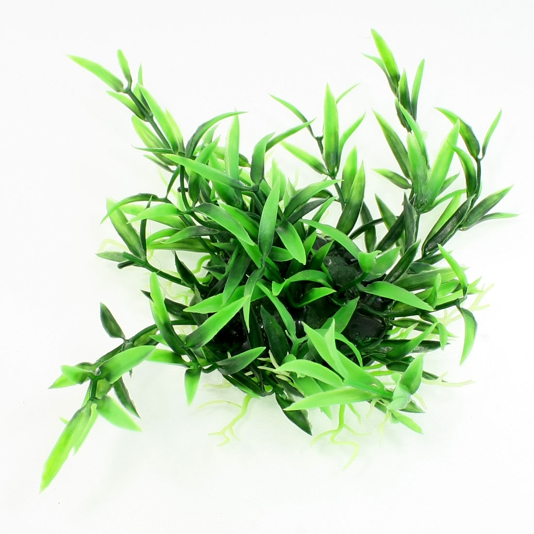 15cm x 18cm Emulational Green Plastic Water Plants for Aquarium Fish Tank