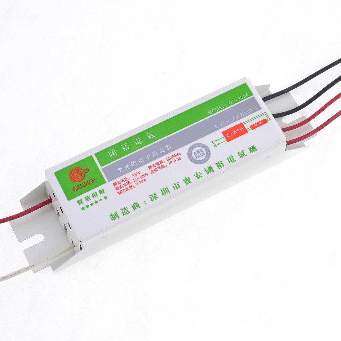 20-55W Metal Shell Fluorescent Light Lamp Ballast 220VAC
