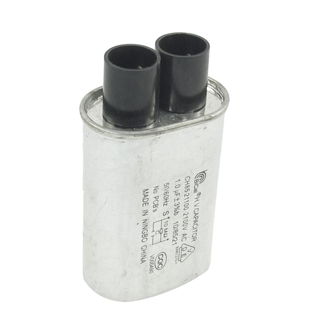 Microwave Oven AC 2100V 1.0uF Cylindrical Capacitor CH85