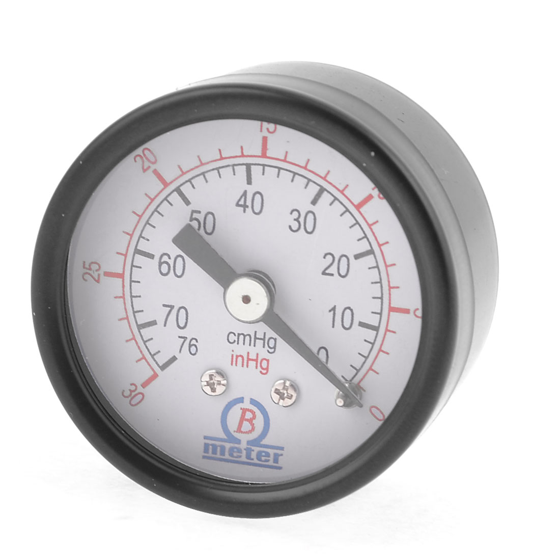 "Air Compressor 1/8""PT Male Thread 0-76cmHg 0-30inHg Pressure Gauge"
