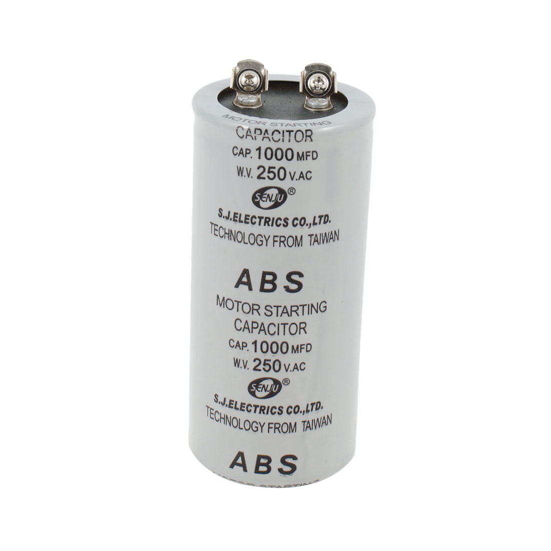 Screw Terminals Motor Starting Capacitor 1000MFD 1000uF 250VAC
