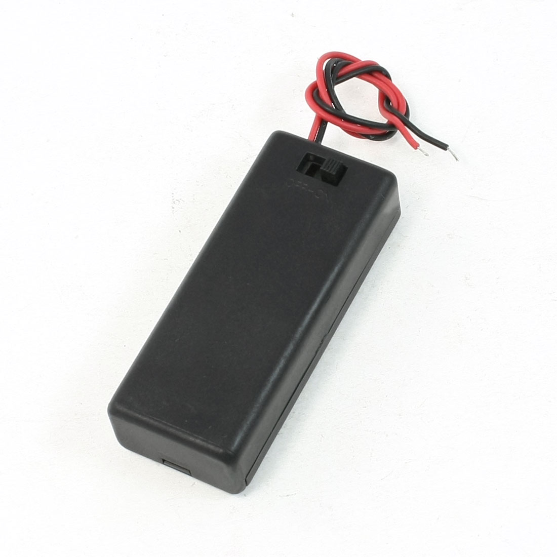 On/Off 2 Wires Lead Switch 2 x1.5V AAA Battery Cell Case Box