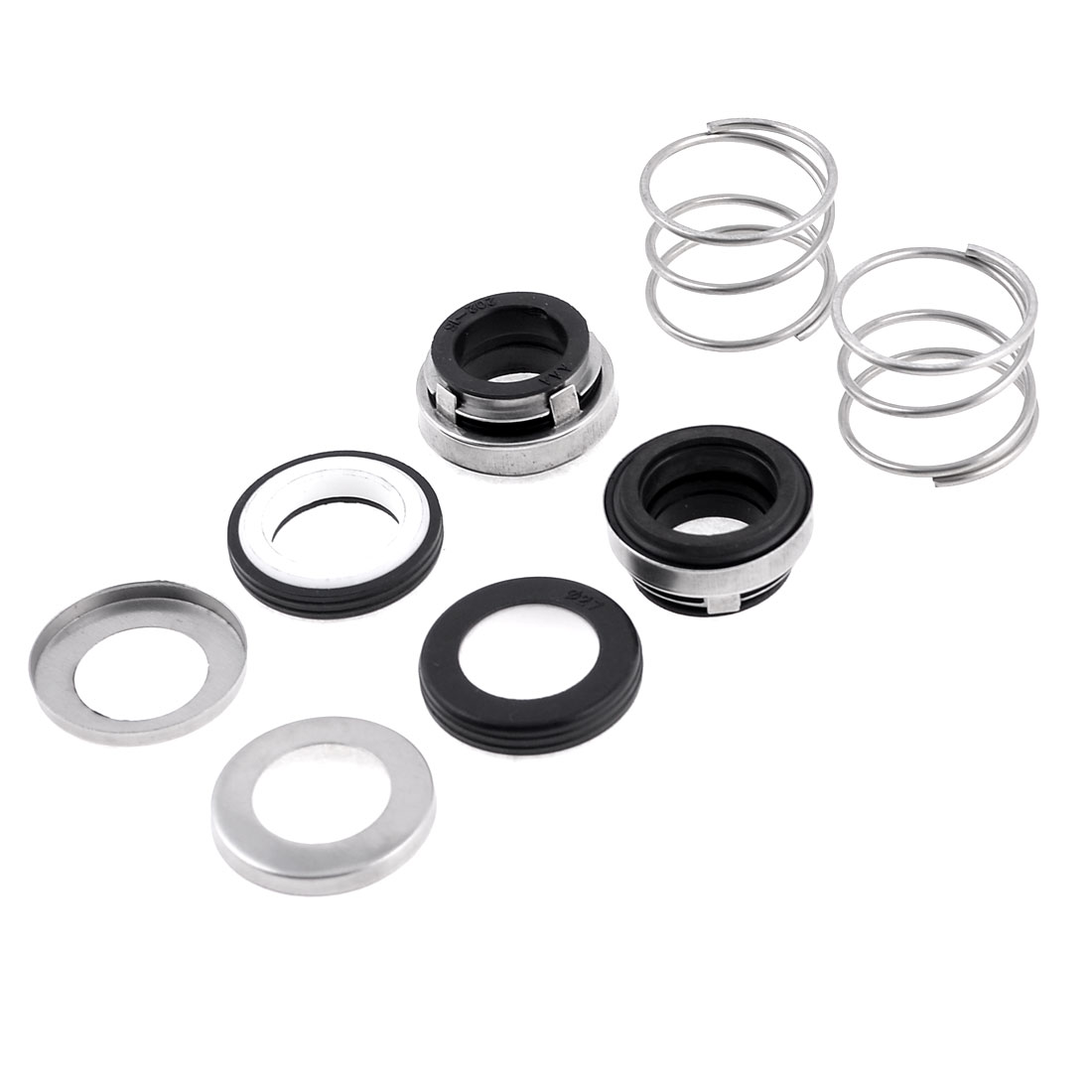 2 Pieces 16.5mm Single Spring Inbuilt Mechanical Water Pump Shaft Seal