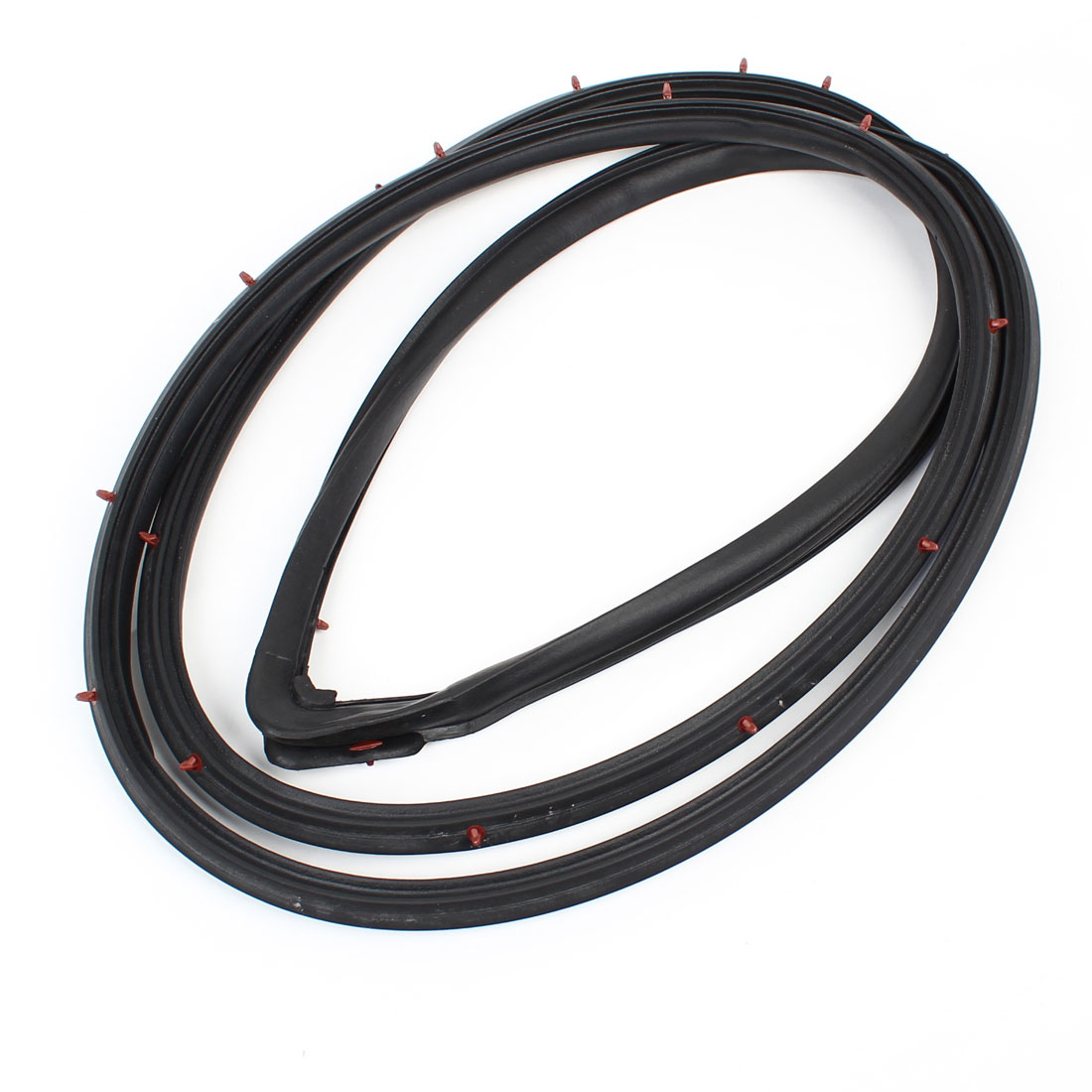 Car Auto Black Rubber Left Front Door Weatherstrip Sealing Strip 72350-S84-A01