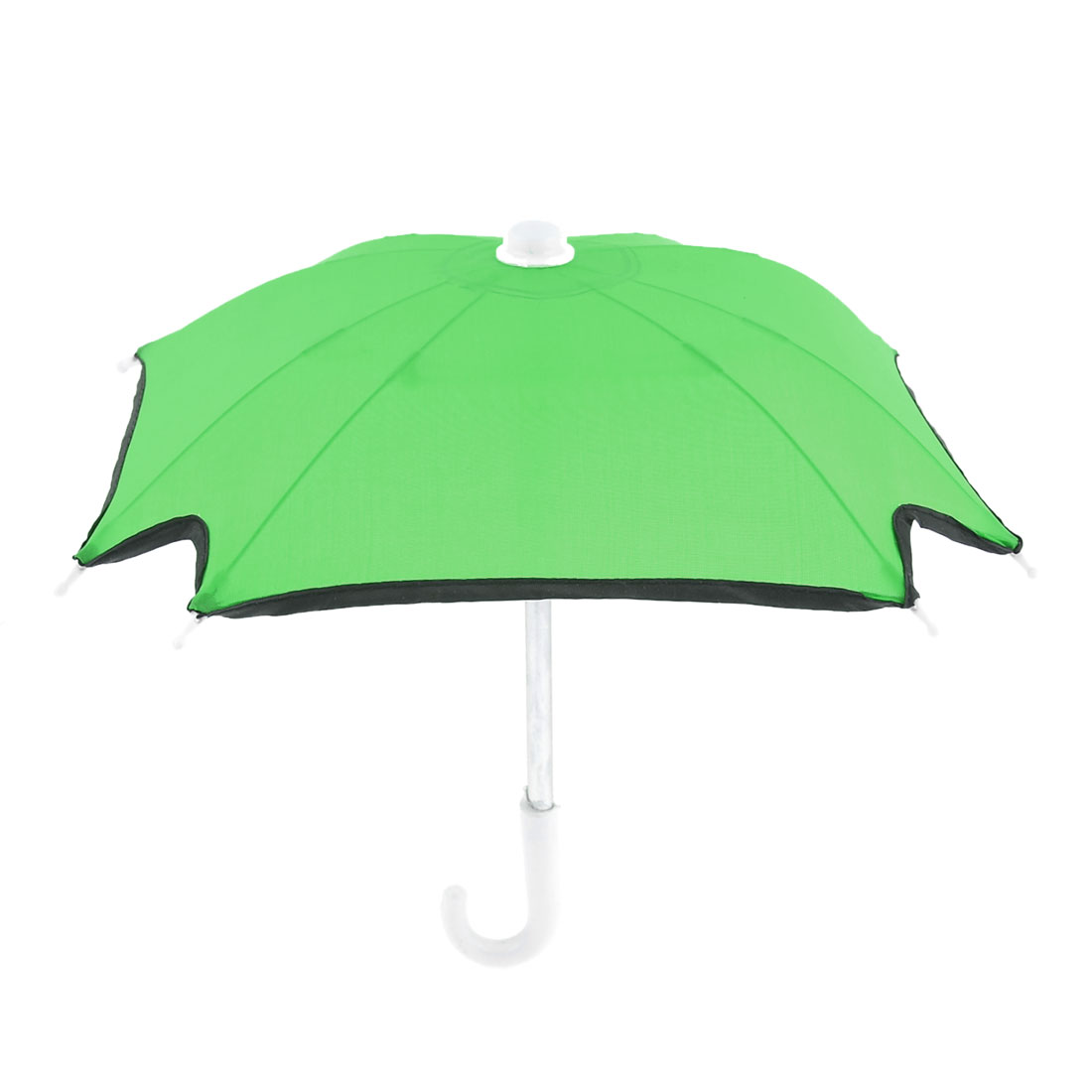 Outdoor Children 8 Metal Ribs Mini Green Folding Umbrella Toy