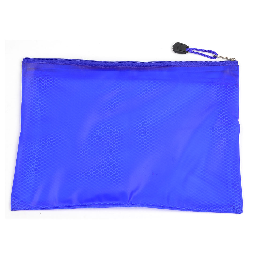 Companies Two Pocket PVC Paper Holder File Bags Folder Blue