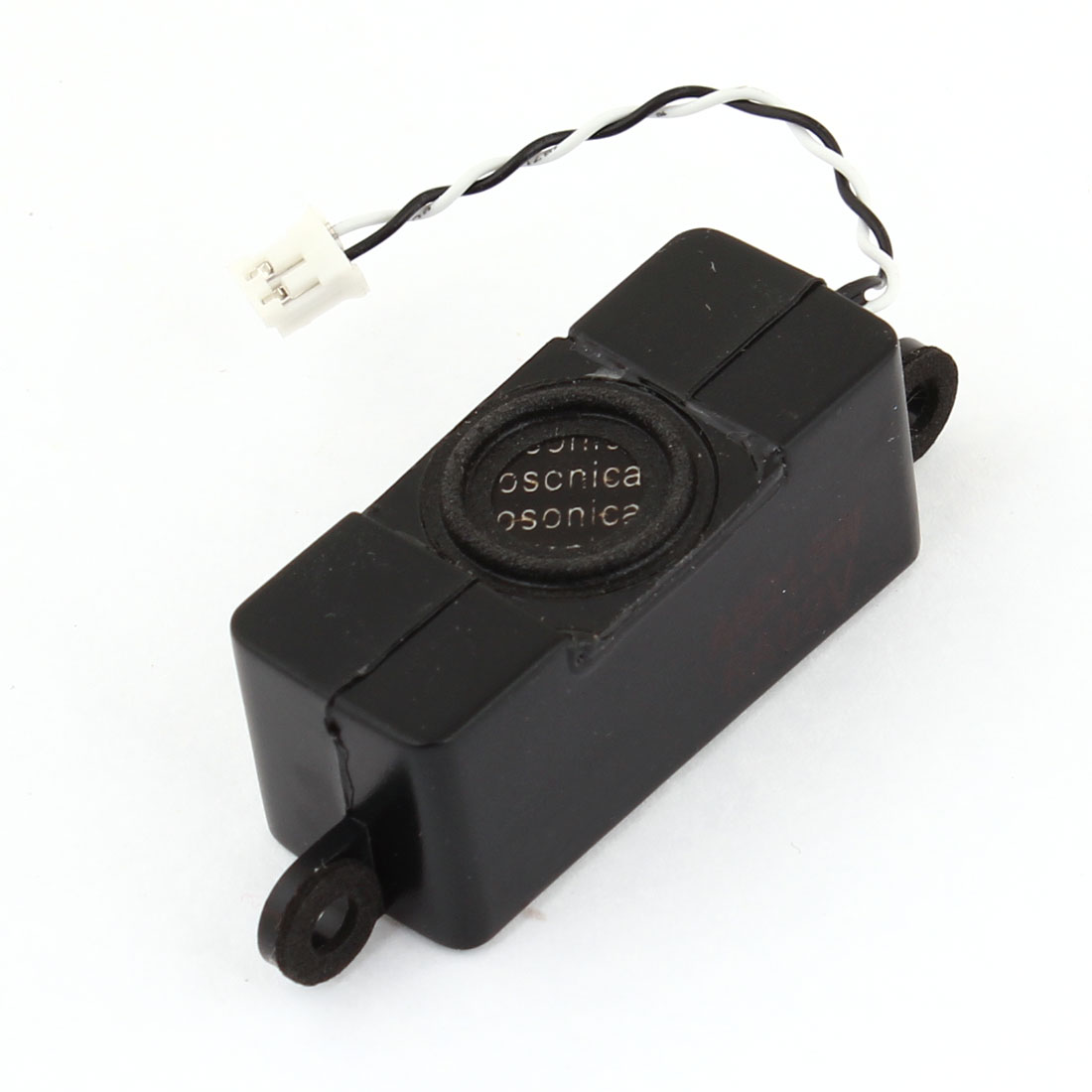 Black Plastic Housing 1.5W 8 Ohm Audio Speaker Loudspeaker Horn