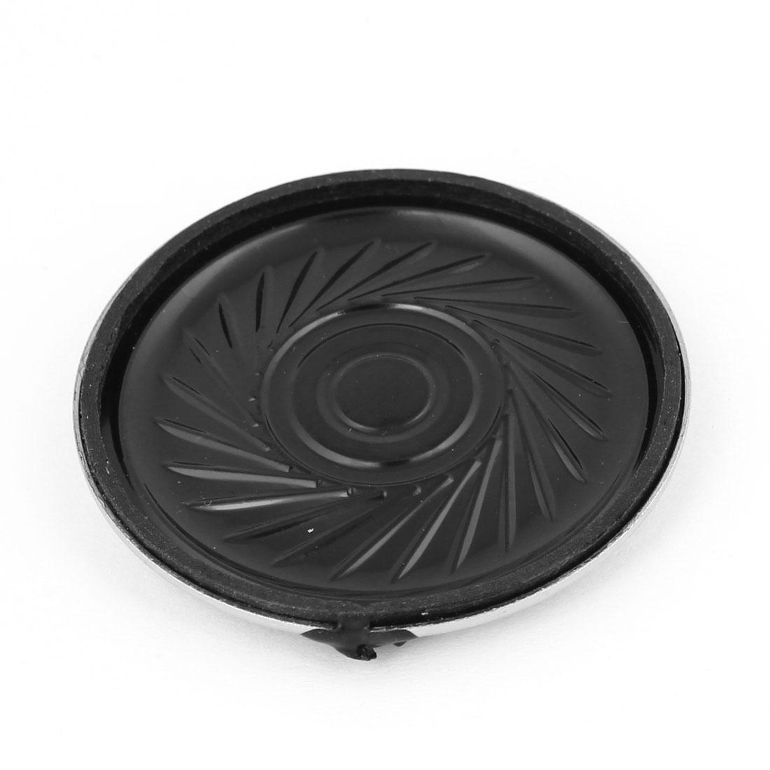 8 Ohm 0.5W 40mm Diameter Round Internal Magnet Speaker for Toys