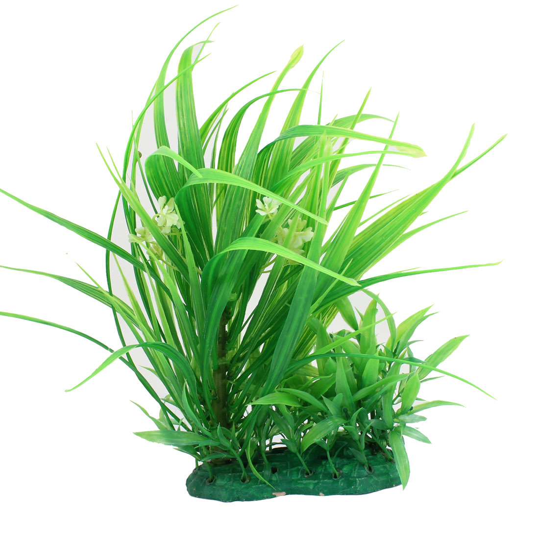 30cm High Aquarium Fish Tank Aquascaping Plastic Plant Grass Green