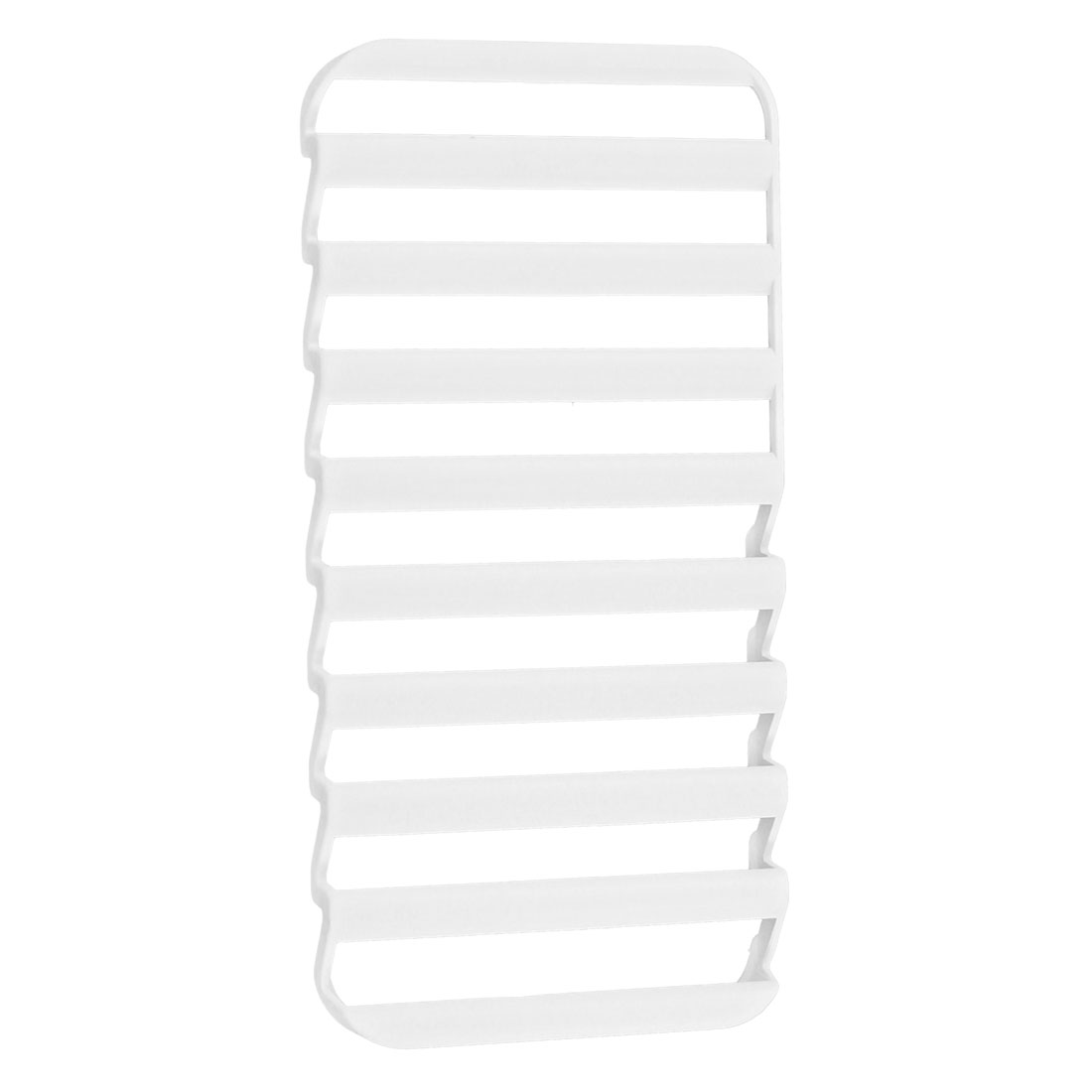 Hollow Pulse Shutter Ladder Shape Case Cover White for Apple iPhone 5 5G 5th