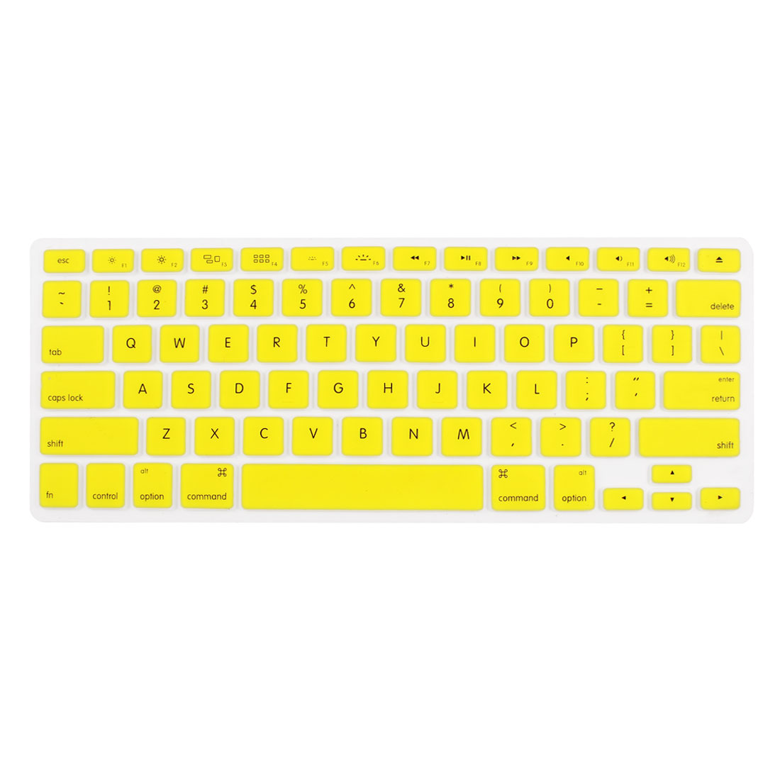 Yellow Skin Cover Protector Guard Laptop Keyboard Film for MacBook 13.3""