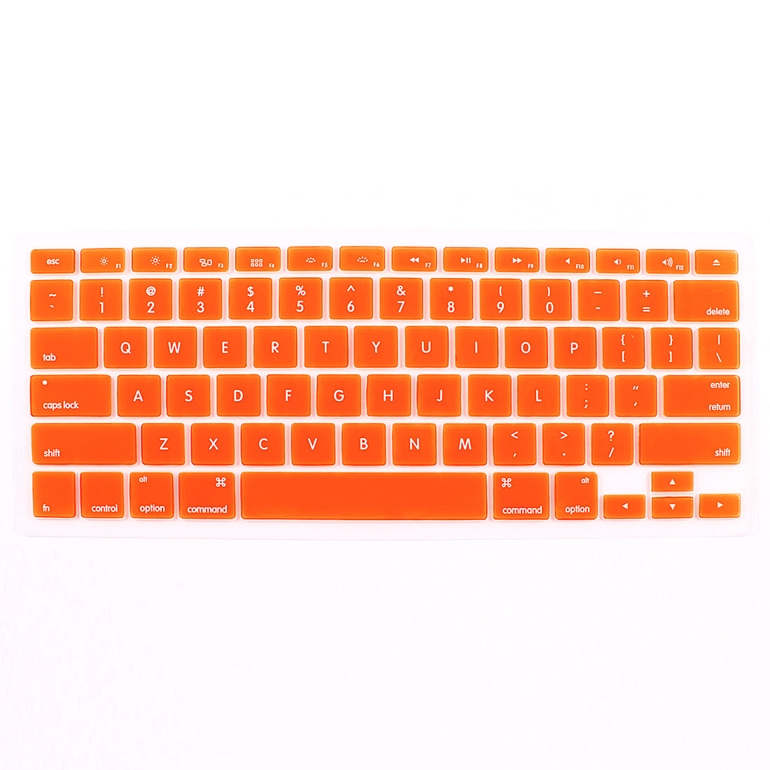 Orange Notebook Keyboard Skin Film Cover Shield for Apple MacBook 13.3""