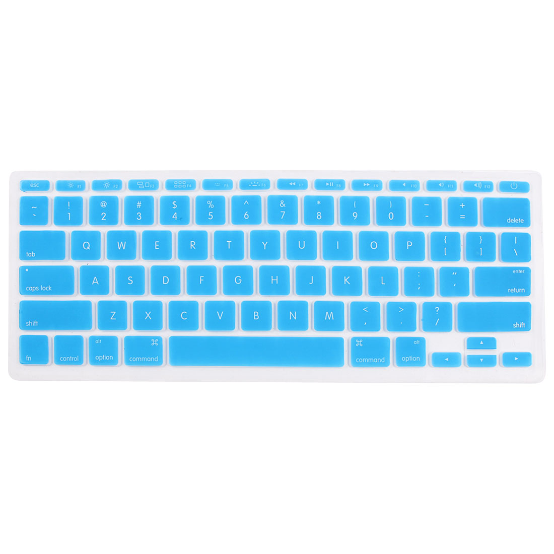 Sky Blue Skin Cover Protector Guard Laptop Keyboard Film for MacBook Air 11.6""
