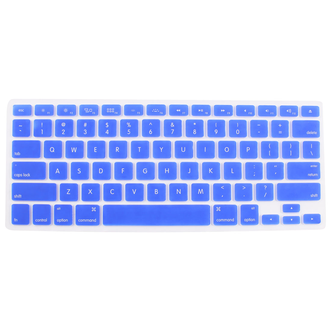 Dark Blue Skin Cover Protector Guard Laptop Keyboard Film for MacBook 13.3""