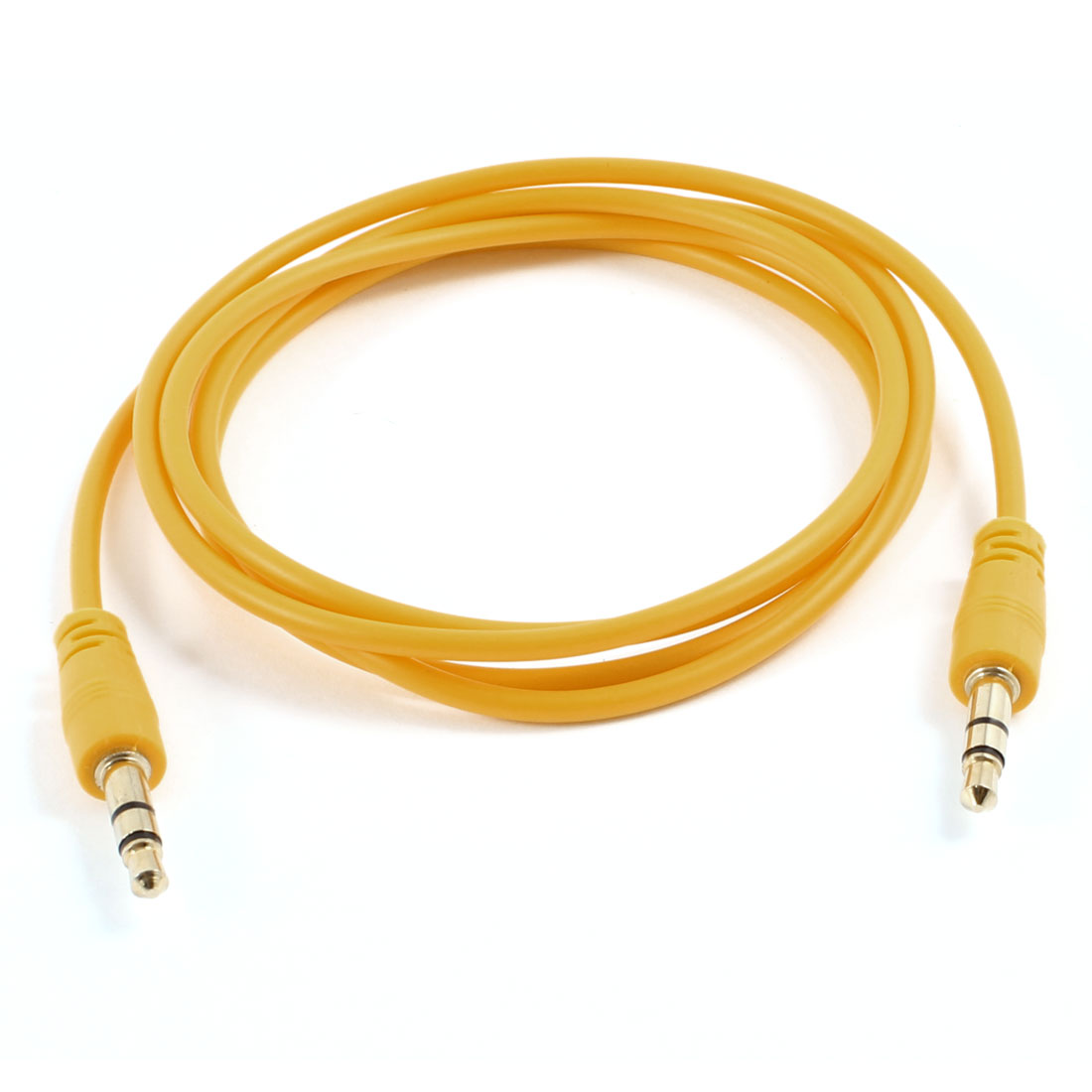 Yellow 3.5mm Male to Male M/M Jack Stereo Audio Cable 40.9""