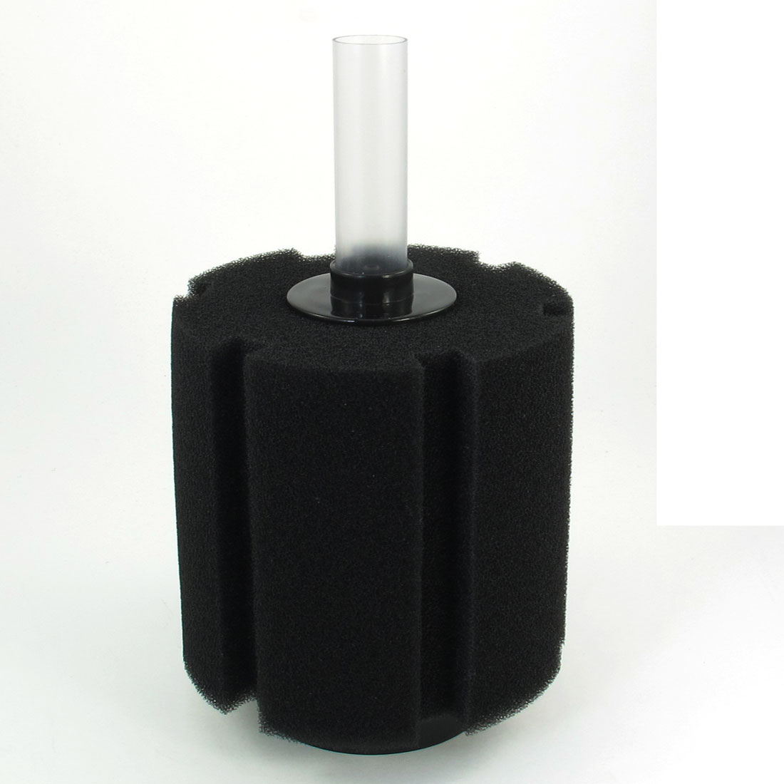 "Fish Tank Aquarium 4.5"" Dia Bio Biochemical Sponge Fiter Black 8.5"" High"