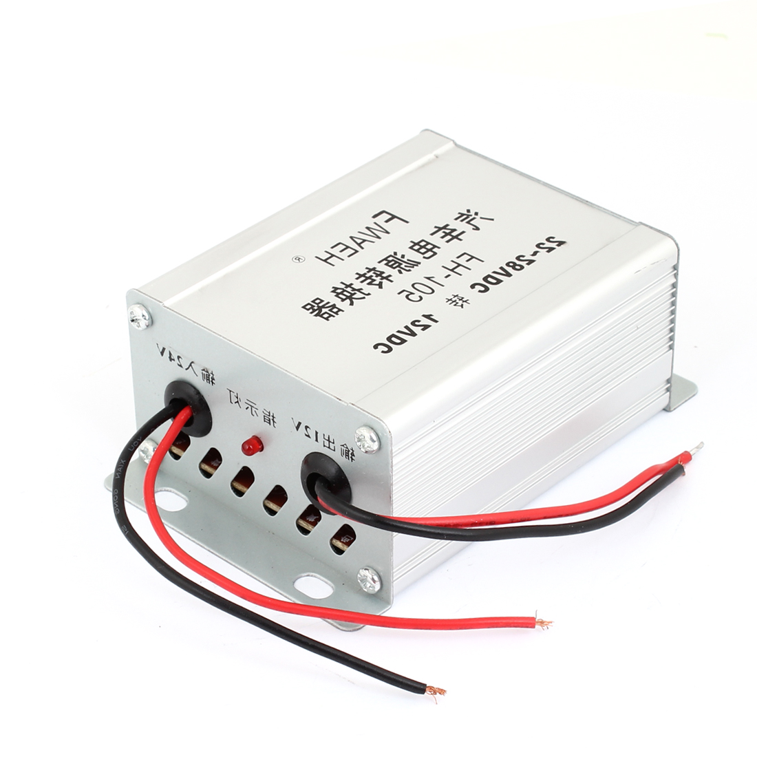 Metal Body 2 Wires DC 22-28V to DC 12V Vehicle Electric Power Tansformer