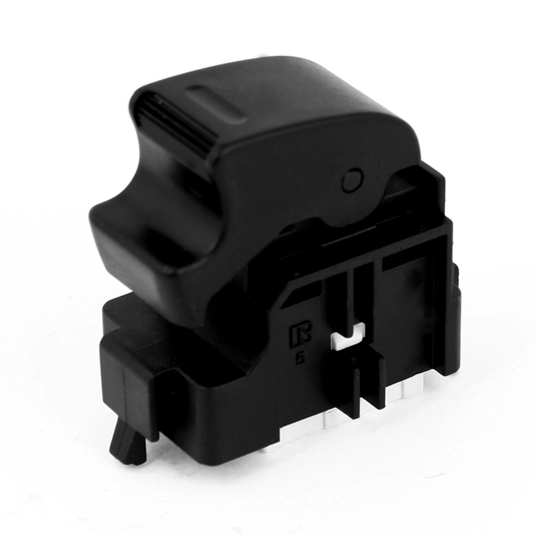Black Plastic Passenger Power Window Switch Spare Part 5 Pins for Toyota