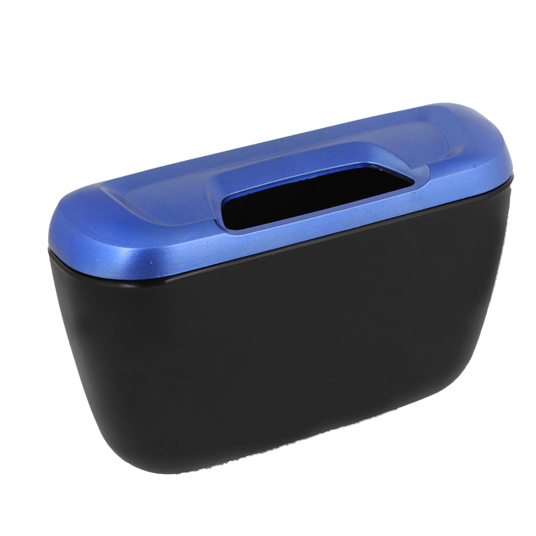 Van Car Truck Black Blue Plastic Shell Interior Garbage Bin Can Holder