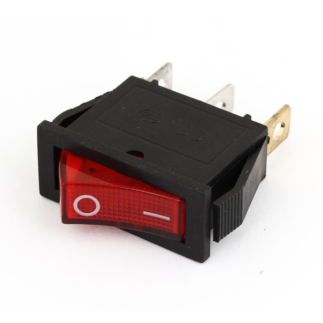 AC 15A/250V 20A/125V 3 Pin 2 Position Red LED Light ON/OFF Rocker Switch KCD3