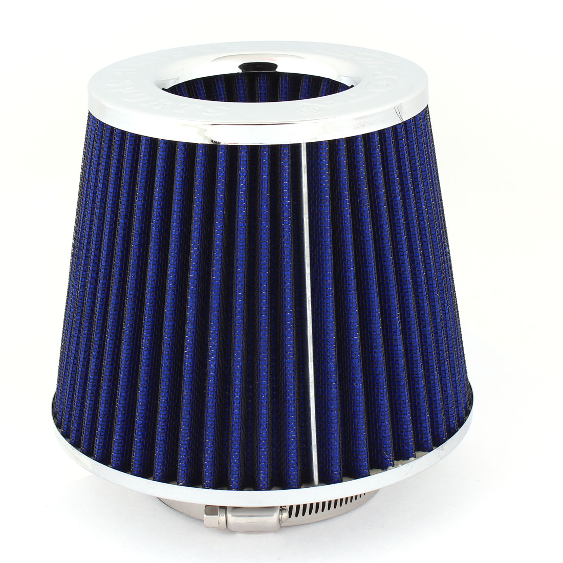 "Van Truck SUV Universal 3"" 76mm Inner Dia Air Intake Filter Blue"