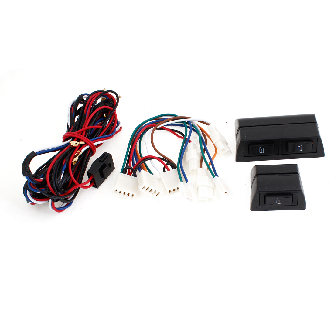 Car Glass Lifter Control Power Door Window Push Button Switch Controller Wire