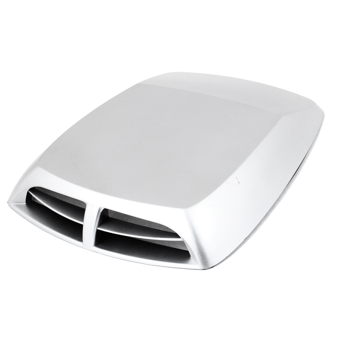 Vehicle Car Silver Tone Decorative Air Scoop Flow Fender Side Vent Sticker
