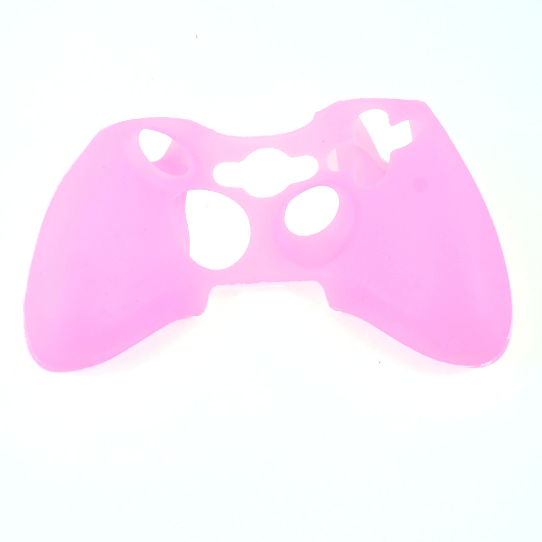 Silicone Skin Case Cover Protector Light Pink for Xbox 360 Game Controller