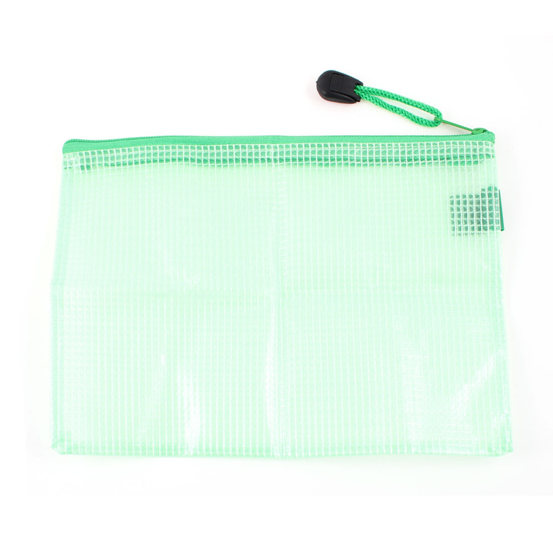 """7.1"""" x 4.5"""" Plastic A6 Paper File Bag Green for Students"""