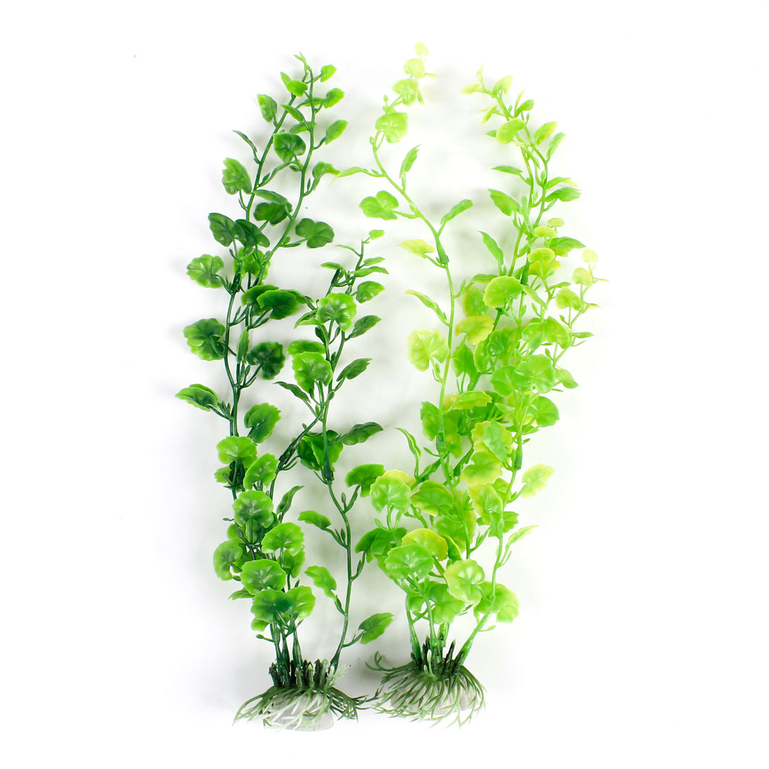 "13.4"" High Green Emulation Water Grass Plant 2 Pcs for Aquarium Fish Tank"