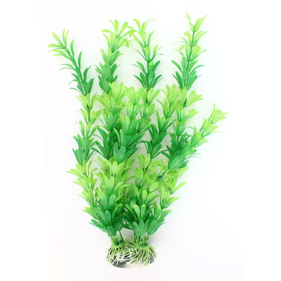 "Fish Tank Green Manmade Grass Underwater Plant Decor 11"" Height"