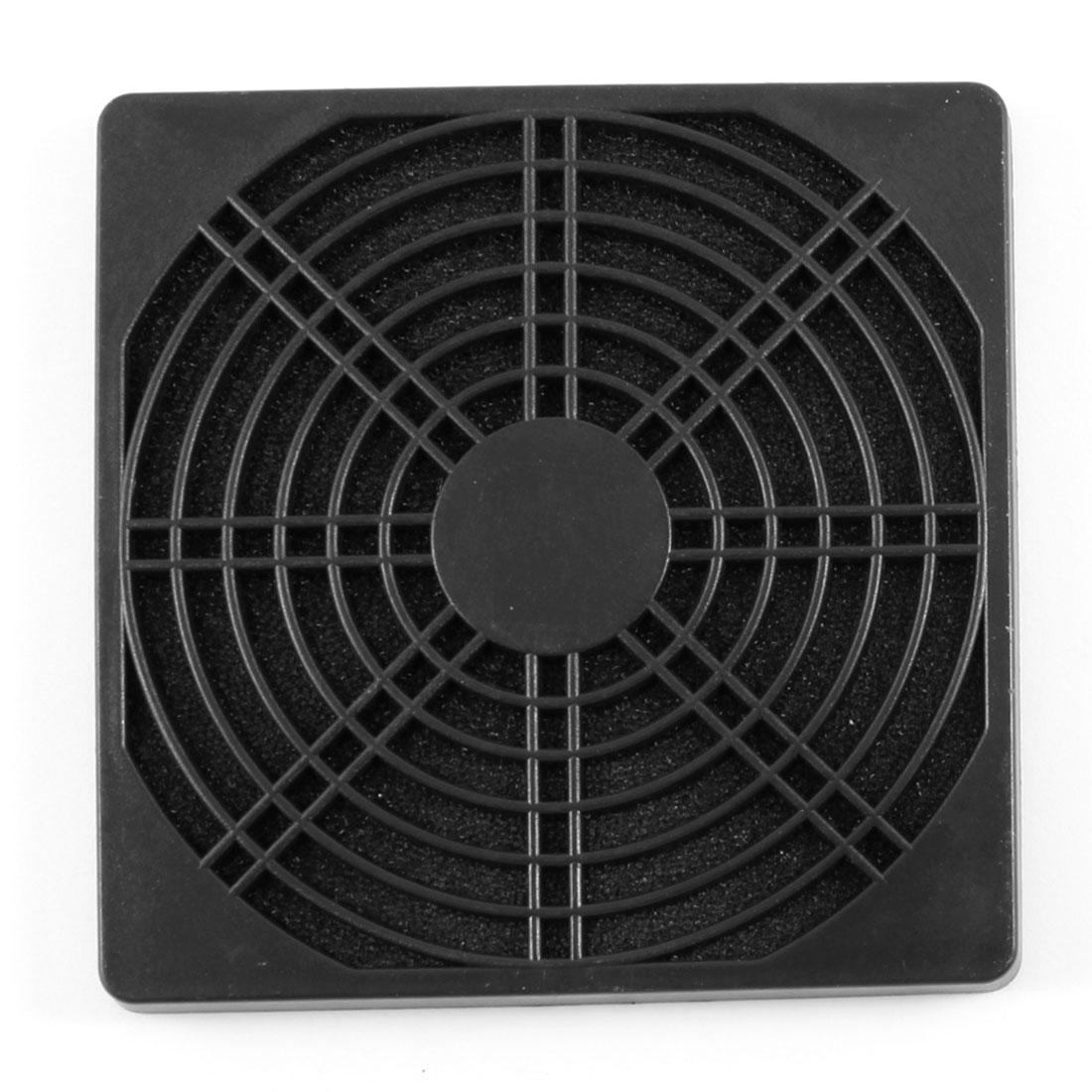 PC Case Fan 12.2cm 122mm Plastic Filter Dust Guard Dustproof Mesh Black