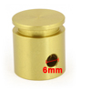 6mm Bore Diameter Electric Hammer Spare Parts Piston Gold Tone