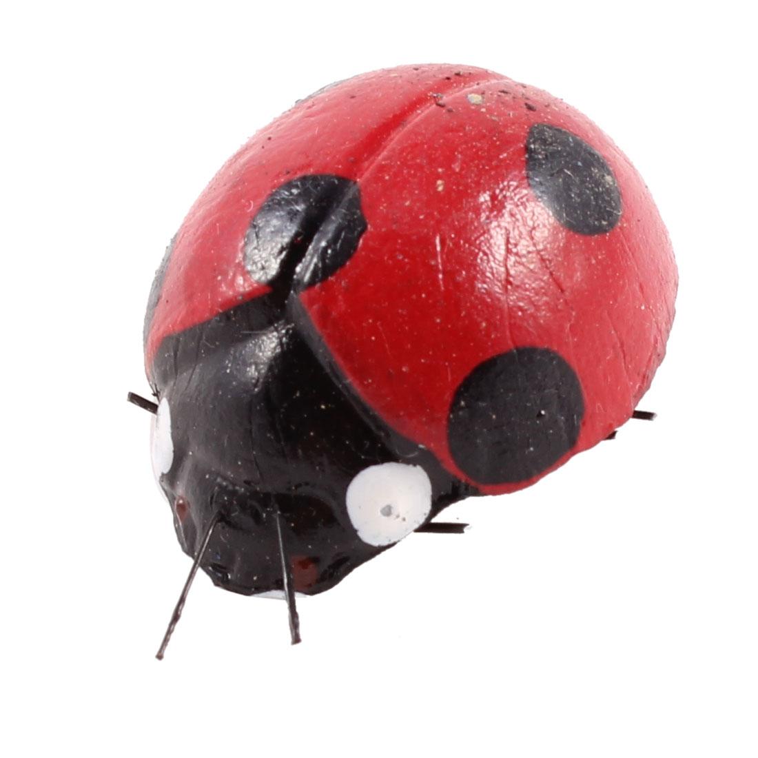 Refrigerator Fridge Decorative Mini Ladybug Magnetic Stickers Red Black