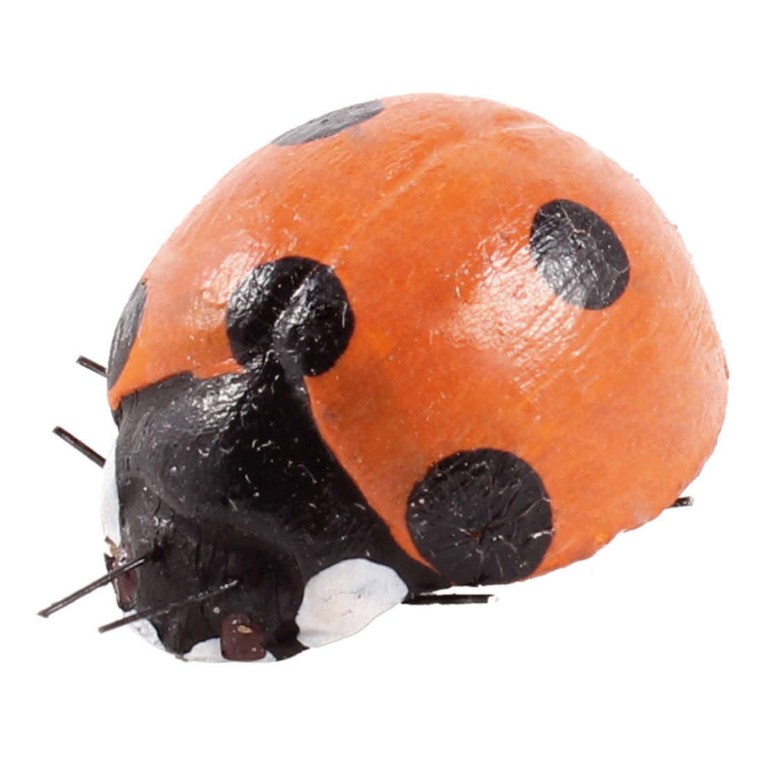 Refrigerator Fridge Decor Mini Ladybug Magnetic Stickers Orange Black