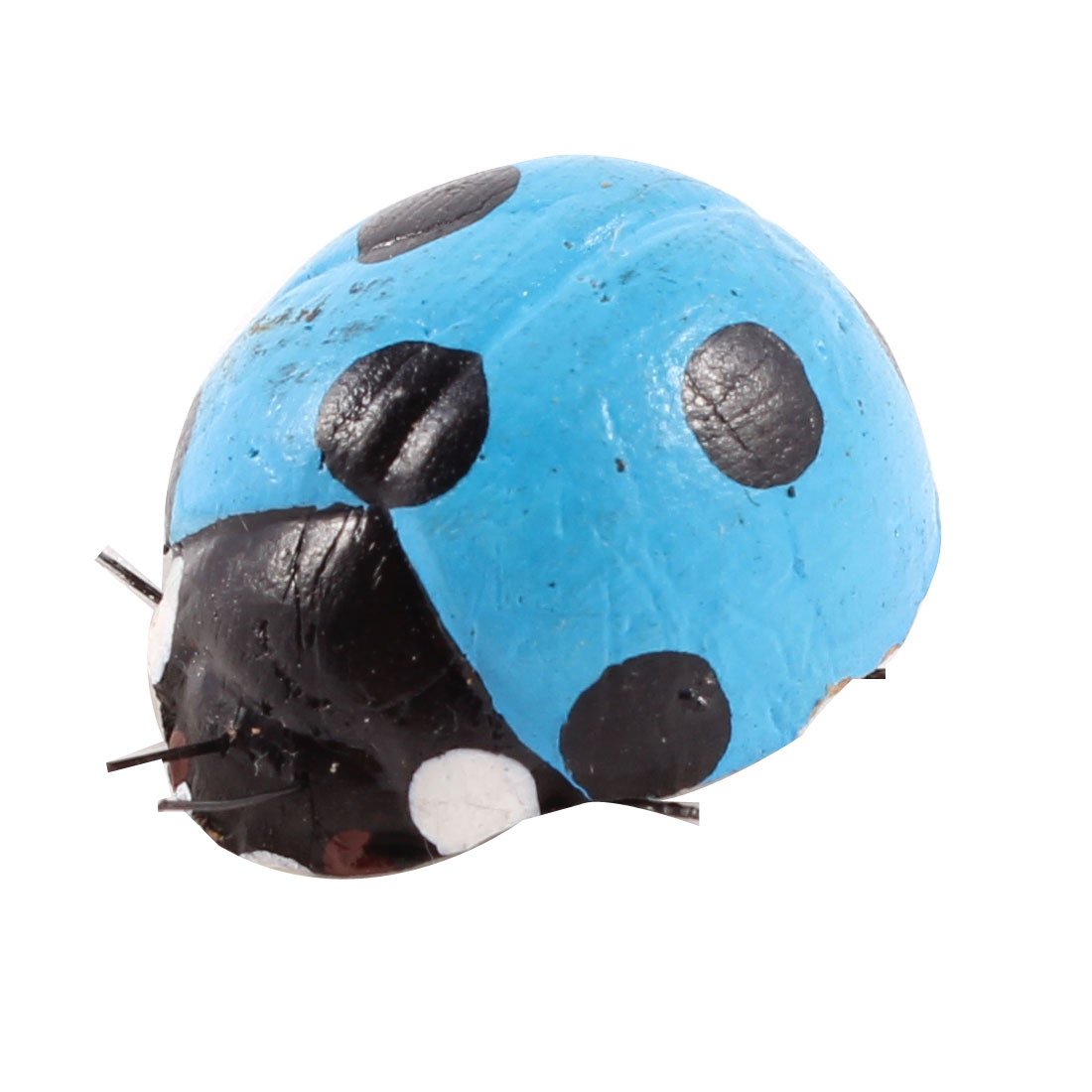 Blue Black Ladybug Shaped Fridge Refrigerator Magnetic Stickers Ornament