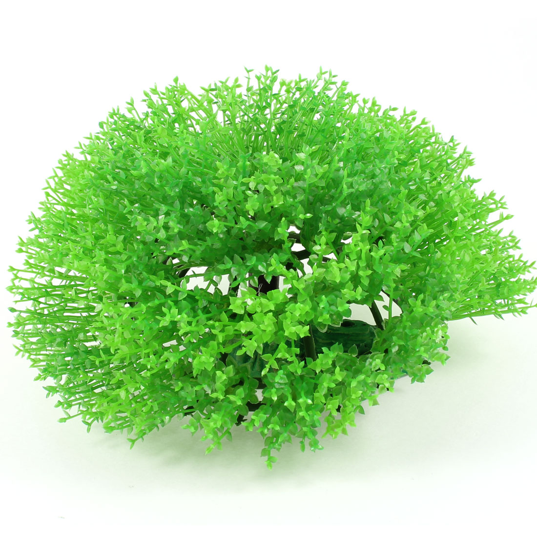Fish Tank Aquarium Landscaping Manmade Plastic Underwater Tree Plant Ornament Green