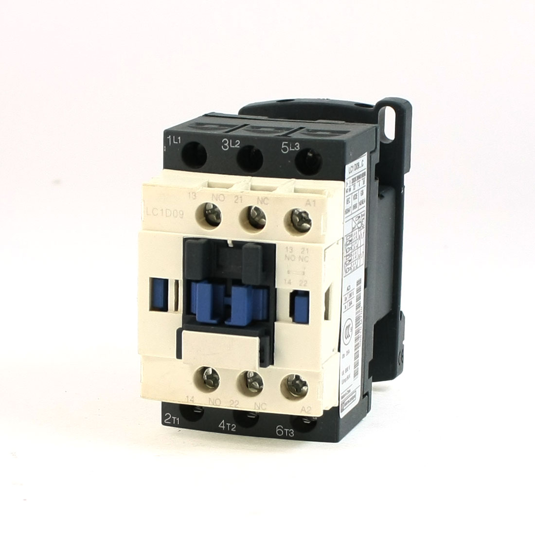LC1D09 AC Contactor 110 Volts 50/60Hz Coil 3-Pole NO NC