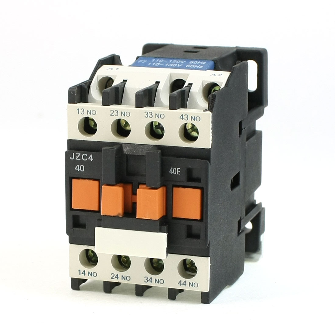 JZC4-40 110VAC 50/60Hz Coil 3P Three Pole 4NO AC Contactor