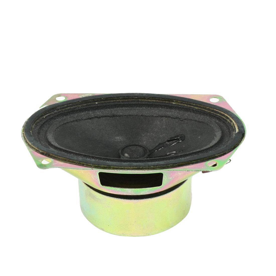 128mm x 78mm Internal Magnet Speaker Antimagnetic Tweeter 8 Ohm 10W