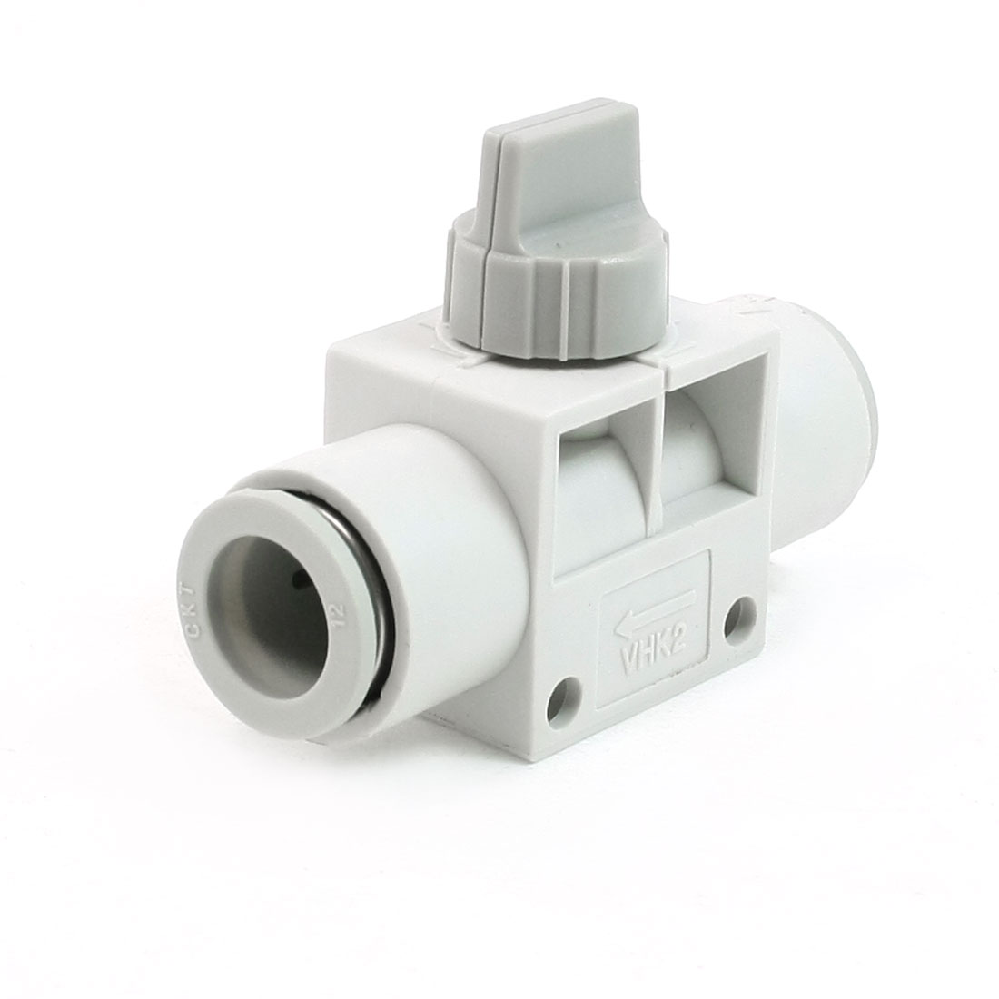 12mm to 12mm One Touch Fitting Pneumatic Quick Connector Hand Valve