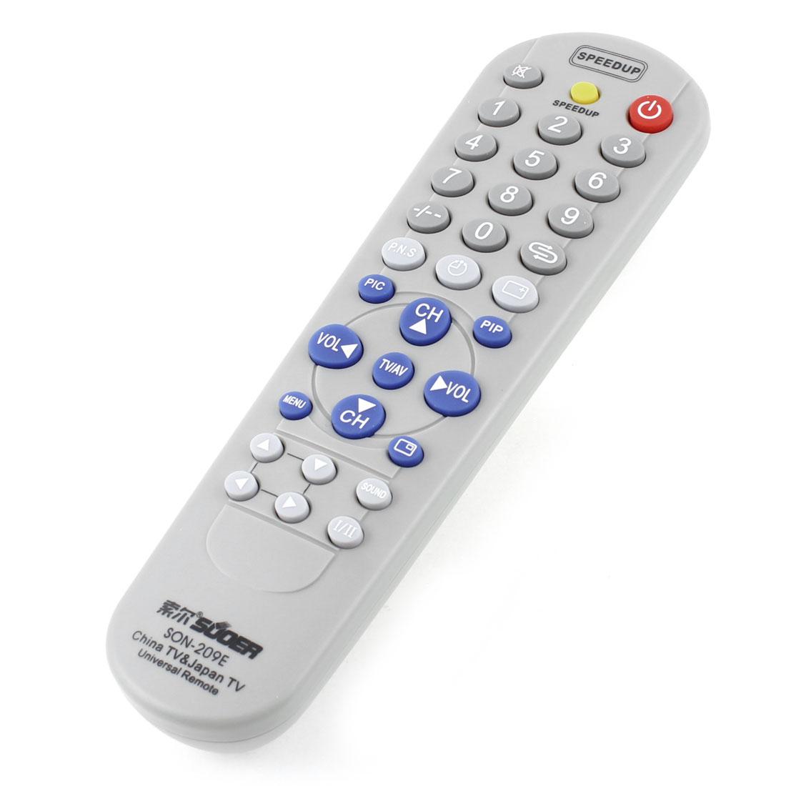 SON-209E Multi-fuction TV Remote Controller Spare Part